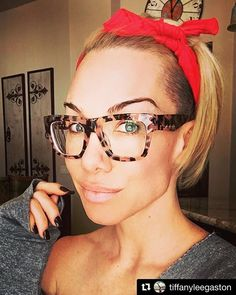 What is your favorite item to wear in your hair? Funky Glasses, Cool Glasses, New Glasses, Eyeglasses For Women, Sunglasses Women, Eyewear Trends, Fashion Eye Glasses, Sunglass Frames, Womens Glasses Frames
