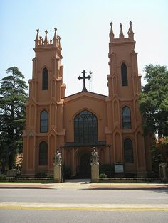 Trinity Episcopal Cathedral in Columbia, South Carolina
