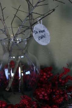 "News Years Resolutions Tree, but her idea was taken from Thanksgiving Tree. This is a cool idea for any ideas or thoughts. More like a ""thought tree"""