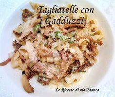 """le ricette di zia bianca: Tagliatelle con """"Cantharellus cibarius"""""""
