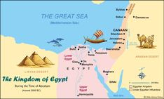 The Kingdom of Egypt During the Time of Abraham at the Time of Genesis in the Bible