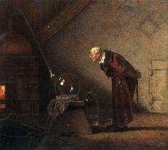 Carl Spitzweg, The Alchemist