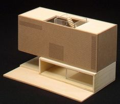 Groningen, Netherlands  Viviendas En Groningen - De Linie  Nieto Sobejano Arquitectos,  maquette, architectural model, maqueta, modulo