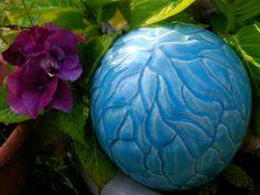 Cracked Blue Planet by BornofFireCeramics on Etsy, $35.00