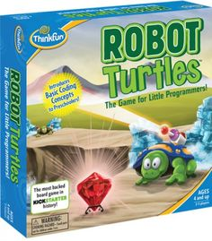 Robot Turtles: het bordspel dat vierjarigen leert programmeren