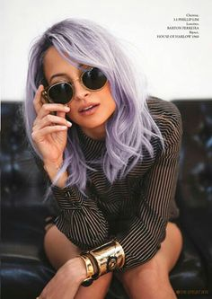 Lavender bob