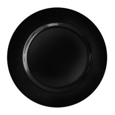 "The Jay Companies 13"" Round Black Polypropylene Charger Plate $1.49 each"