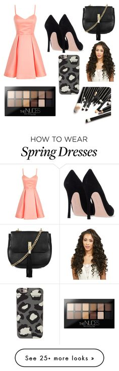 """cheeta"" by lovemeall on Polyvore featuring Topshop, Maybelline and Marc by Marc Jacobs"