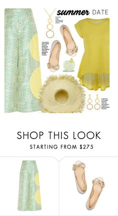 """""""Summer Date"""" by beebeely-look ❤ liked on Polyvore featuring HUISHAN ZHANG, Tory Burch, ootd, espadrilles, sammydress, summerdatenight and MyPowerLook"""