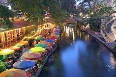 Il lungofiume di San Antonio