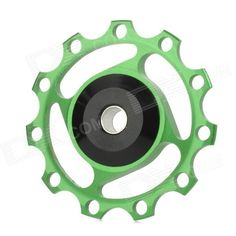 BB-87 Aluminium Alloy Bicycle Rear Derailleur Pulley - Green Price: $6.60