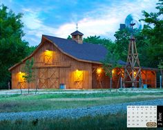 Sand Creek Post & Beam - Traditional Wood Post & Beam Barns