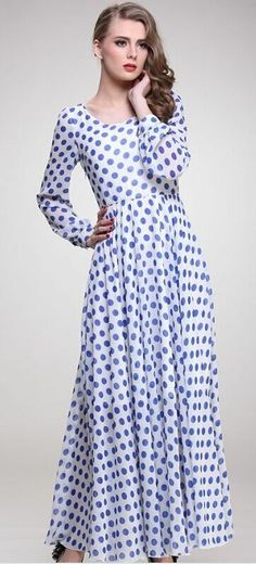 Help us decide, should we carry this dress at Mode-sty? Re-pin if you want us to!