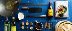 Chinese Kitchen Essentials Everything you need to master Chinese cooking Cooking Chinese Food, Asian Cooking, Cooking 101, Cooking Recipes, Pantry Essentials, Asian Kitchen, Oriental Food, Tasting Table, Asian Recipes