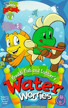 Freddi Fish and Luthers Water Worries  PC ** Want additional info? Click on the image.
