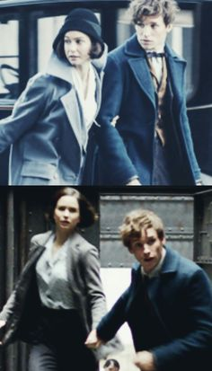 Newt and Tina | Newtina | Fantastic Beasts and Where to Find Them