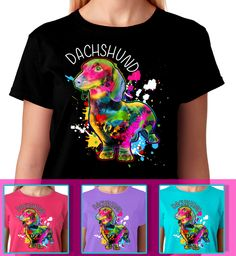 You Love Dachshunds? Then This is for You! Available In Multiple colors and Styles! Dachshund Lovers This is Great!