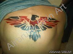 Eagle - www.AirbrushSkinArt.com