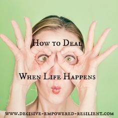 Tips for how to deal when life throws life upside down. Success and motivation. Keep calm, stay focused and breathe.