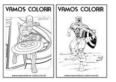 Livro de colorir dos vingadores grátis para imprimir! revista colorir dos Vingadores! - Espaço Educar desenhos para colorir