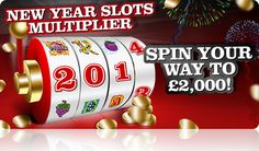 New year #slots multiplier spin your way to huge bonus .