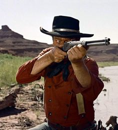 John Wayne (Ethan Edwards)- The Searchers, 1956 - directed by John Ford John Wayne Quotes, John Wayne Movies, Westerns, Clint Walker, The Searchers, Art Of Manliness, John Ford, Movie Shots, Actor John