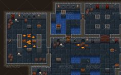 Top-Down Roguelike Dungeon Crawl RPG Tileset