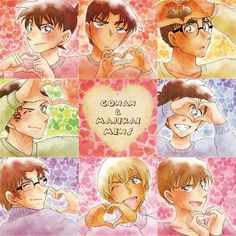 The young fellas from Detective Conan.