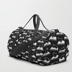 Buy Easily Distracted By Cats And Books Book & Cat Lover Pattern Duffle Bag by grandeduc. Worldwide shipping available at Society6.com. Just one of millions of high quality products available.