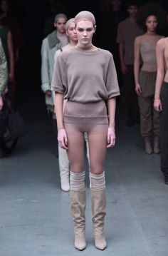 3496cc3633e0c kanye west debuts adidas collection at new york fashion week