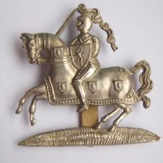 Fife & Forfar Yeomanry Cap Badge |