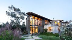 Contemporary Home by WA Design with Views of San Francisco Bay: