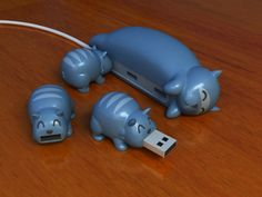 @Bridgette McClanahan haha here is some cat USB like the pigs lol