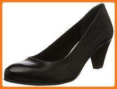 Tamaris Women's Pimela 1-22400-28 Black Sandal (*Partner Link)