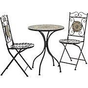 Gartenset Ornella Schwarz Modern Stein Metall 60 36 72 92 60 36cm Modern Living Gartenmobel Gartenmobel Lounge Set Mediterraner Stil