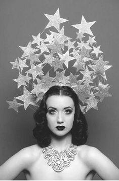 ♕ Vintage Costume Variations ♕ star headdress