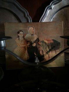 Early American Shelf  Portrait