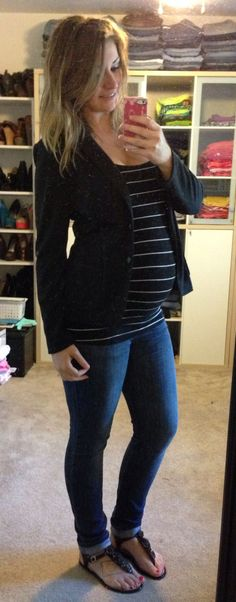 Baby bump. I hope I look this cute pregnant in the far future Nail Design, Nail Art, Nail Salon, Irvine, Newport Beach