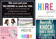 Why not put your tax refund to work for you this year?! Invest a portion of your tax return into hiring yourself and making a big return on your investment! Rodan  Fields can offer you an amazing business opportunity to work on your own terms! NO INVENTORY NO PARTIES NO MINIMUMS WORK FROM HOME NO RISK COMPLETELY VIRTUAL I promise you it is an incredible opportunity! And it really is as simple as washing your face and talking about it. Why wait any longer?!? Message me to get started today…