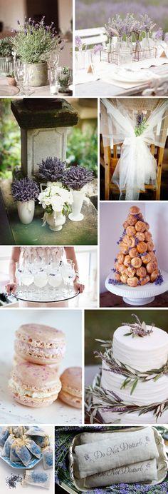 Lavender Wedding Details | The Destination Wedding Blog - Jet Fete by Bridal Bar
