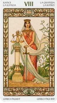 Justice- Harmonious Tarot