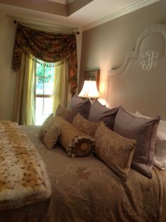 #bedrooms #fur #chic #classy #somethingsouthern