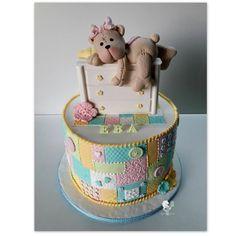 Baby Girl Patchwork cake by Antonia Lazarova