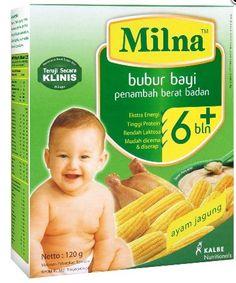 #Milna Bubur Bayi Organik, MPASI Terbaik Untuk Si Kecil