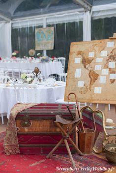 d 233 coration de mariage sur le th 232 me du voyage mariage voyage and plan de tables