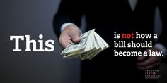 We don't know where the money comes from—tell Obama we want to #GetMoneyOut of politics: http://trib.al/zqSN4vg