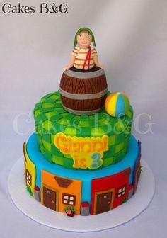 El chavo del Ocho themed cake - Cake by cakesbg - CakesDecor