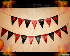 Dragon Birthday Party Banner Print At Home