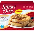 Principle 2 - Smart Ones® breakfast with turkey sausage - Waffles with turkey sausage