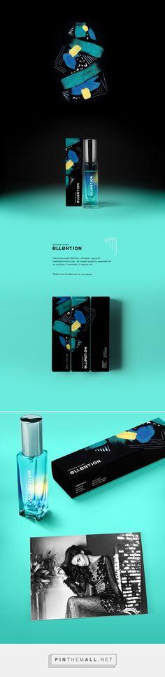 Ellention Perfume Packaging by Яна Аксакова   Fivestar Branding Agency – Design and Branding Agency & Curated Inspiration Gallery #packaging #packagedesign #perfumepackaging #design #designinspirations